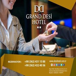 Grand Desi Hotel iş ilanları