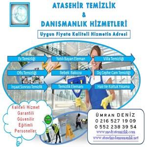Ataşehir Temizlik Ve Danışmanlık Hizmetleri iş ilanları