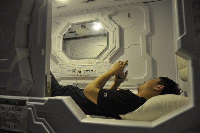 Çalışanlar İçin Uyku Kapsülleri